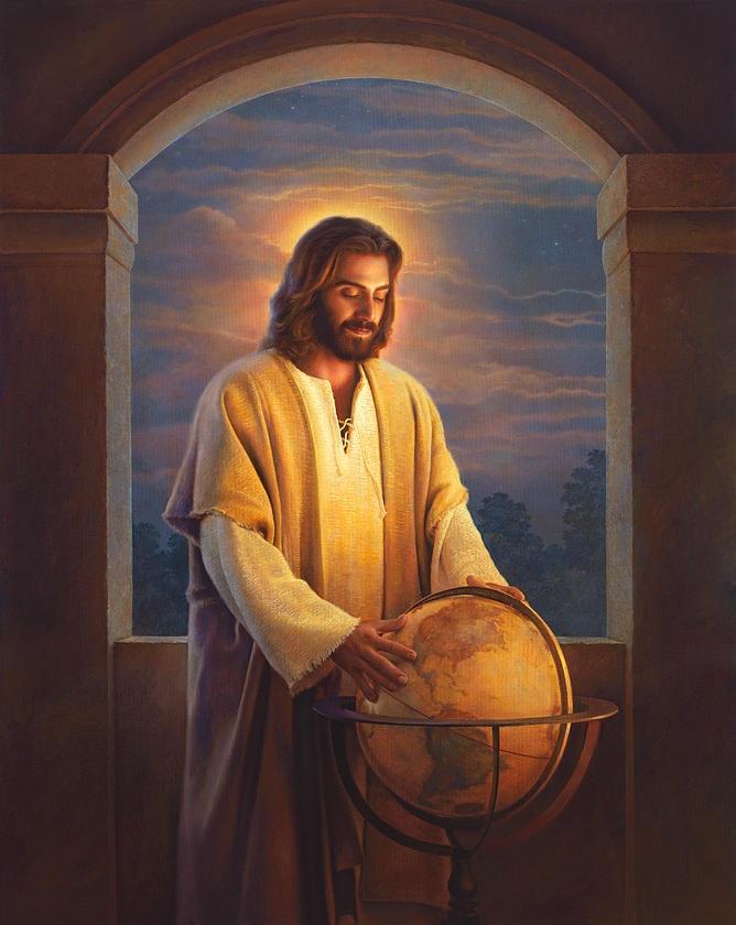 zzz-font-b-jesus-b-font-christ-painting-peace-on-earth-font-b-jesus-b-fontt dans Les 7 Rayons sacrées